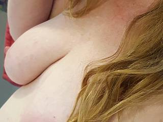 wanna play with my milk filled breasts?