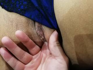 Having a little play with Mrs GWs fabulously juicy pussy, going on cam makes her so horny and sooooo wet.... Would you like to watch her play with herself?