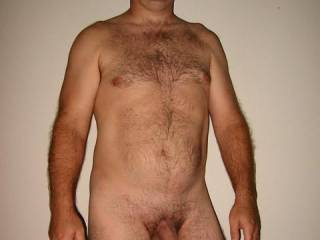 Man, you are NICE!!!  I love all the hair and I love that cock!  I'd suck you anytime.