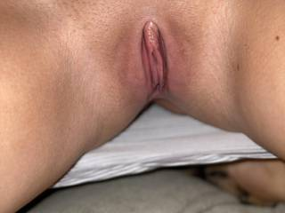 She came to me and wanted me to feel her pussy after she shaved it for me. Who thinks I should give it to her?
