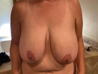 Wife's titties!