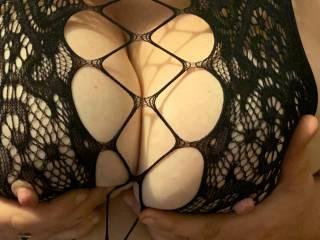 Wife's Sexy big tits .