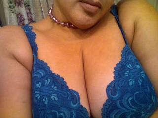 my fav bra showing off my favorite part of my body, my 42D boobs