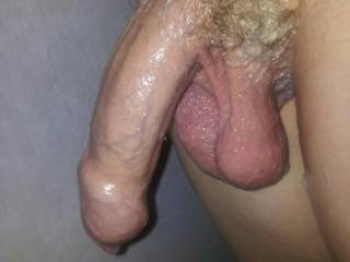 Who likes my wet cock??? ;-)