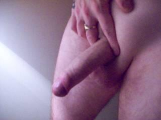 dan showing his nice thick cock.mmmmmmmm