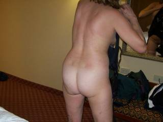 Figured I\'d take a picture of Hotwife Venus74 from here on zoig before her hubby and I fucked her in a threesome