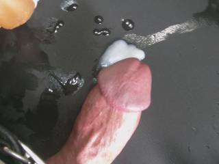 Love that big beautiful cock head  and that hot load!!!