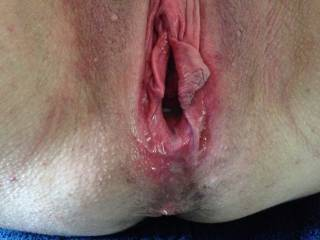 It looks like you need some more fucking from me and mesome to really make it freshly fucked and worn out!
