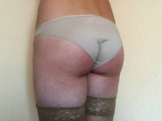 my cock was hard when he see  this pictures. but with latex or leather undies it looks  very better look my pictures please and you see what i meen sorry for may bad english