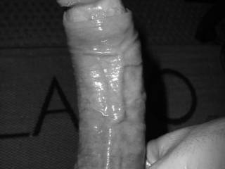 My oiled cock, hard and ready for you. Would you like to play with it?