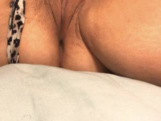 My shaved pussy.
