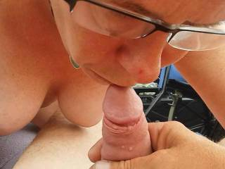 No one can suck a cock like my wife and fucking turns me on to see her do it hit us up and maybe I can watch her suck your and you fuck that wet pussy but I get the creampie as long as you got mine love my dirty dirty dirty girl