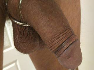 My cock and ball sack. Who would like to suck on them?