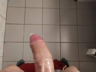Cumming in a condom