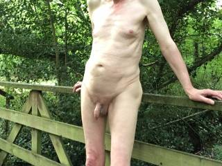 Memories of being out and naked last summer.