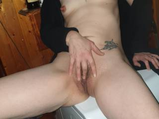 I am getting so horney thinking about your big hard cocks and them lovely juicey  pussies have to touch myself.