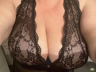 Bought some new Lacy lingerie feels great on  😉