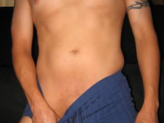 Another Pic me In Blue Undies.