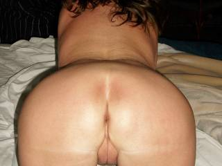 Mmmmmm you are in my favorite position!  Love to mount you from behind, grab those sexy hips as my hard cock is sliding into your tight, wet pussy and ride you until I fill your pussy full of my thick cum!!