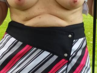 Oh yes,  i like very much,  thank you!  I would love to caress them and suck on those nipples.