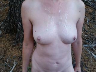 I'd love to join you for a naked hike and some hot sexy outdoor fun. Then see you carrying on with the hike with my cum all over you.