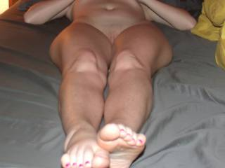 This pic was taken by a bf i had about a year and a half ago. He is a friend of my hubby\'s and he was an amazing fuck! I enjoyed him several times but he moved away :( (pic 1 of 8 in this series)