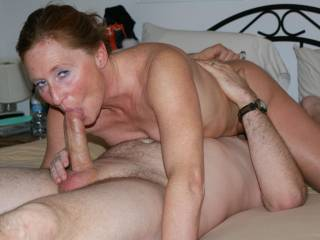 sucking a nice big cock