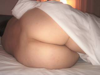 Please rate my big round milf ass!