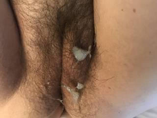Love cum on my pussy