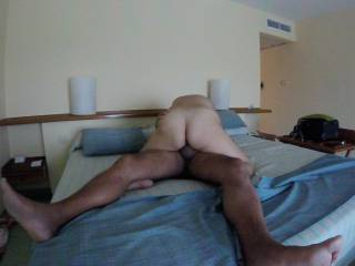 She love to ride my cock all the way in balls deep, she love went i cum deep into her
