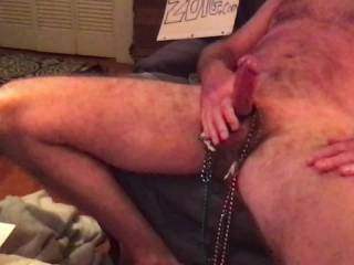 I would love to fling some Cum Pearls over a sexy lady\'s photos while she watches me on cam. This is a recording I made during a cam to cam videochat I had with a Very Hot Zoiger. You can hear her giving me jerkoff encouragement in the background. Blast;)