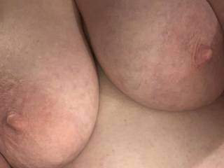 Another tit selfie. You guys seem to like those.