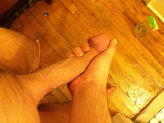 FUCK YEAH!! now that's a man size dick! I was taught ..that if you like something ,no matter what... always pay a compliment .. Using my mouth can compliment your cock better then words!