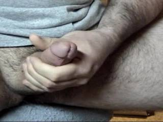 here is something different, perhaps having a guy like you hanging his balls over my wife's tits, where her nipples tickle your balls, you jack yourself off and give me a facial, and her a tit soaking.