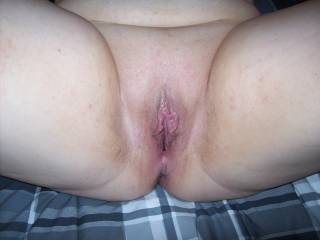 Lupo\'s wife and her freshly fucked, about to fucked and filled with cum pussy