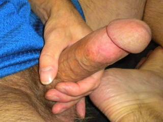 """So many of you with hot bodies I want to suck and fuck. This is what I""""m doing while surfing your profiles and trading hot and dirty messages with all of you hot guys and gals. I love how much you all make me cum. I want to share this dick with all of you"""
