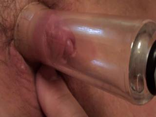 This is from an earlier video that I brought back in its original HD form. Girlfriend getting her clit pumped and enjoying it. I just love this Up Close point of view. How about you?