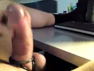 Liebe Frau, Voyeurin, danke schön! I very much appreciate your kind words, if ever i make a new video i will surely think about you and your horny wishes... If my cock were to explode in your wet mouth, I would be sucking your lovely juicy cunt at the same time, and because of that my cum load would be twice as rich as usual!  I love generous mature women like you. Lots of kisses. V