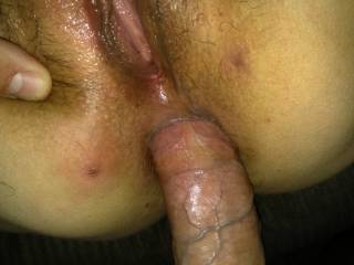 Of course i let my new friend fuck me in my ass.