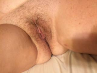 Showing my sweet pussy.