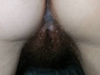 Some hot cum dripping out