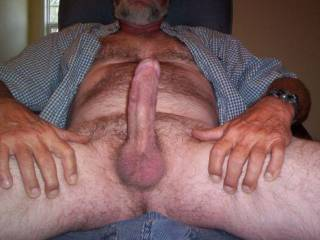 I would LOVE to deep throat you and suck those balls dry for you!!!! VERY HOT cock and body!!!!!