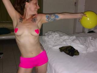 Pics of my awesome redhead wife