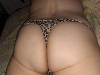 Wife in same thong