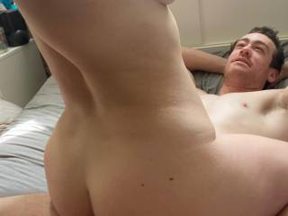 She cums hardest riding my cock with bigger cocks she cums hard on her tummy