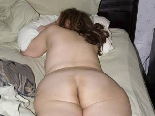 face down in bed