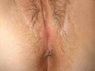 Magnificent succulent hairy pussy!! mmmmmmmmmm Love to have my mouth on that pussy for good long sucking, and licking getting you even more dripping wet with fingers running deep up inside feeling you explode cumming all over my lips as my finger slides up that fantastic ass so wet from you!