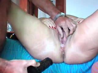 mmm a lovely puss - a delicious looking cock and shaved balls and two very nice asses to explore - how nice it would be to enjoy sharing with you two! mmmmm