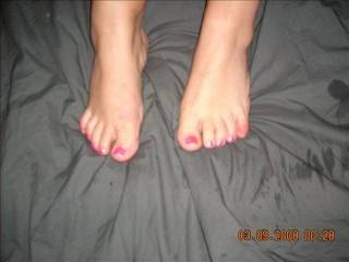 id cum on them and then lick them clean sucking the toes one by one ;) xx