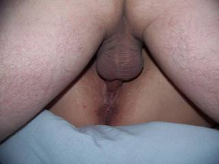 One of my favorite views of my wife when other guys fuck her too. Isn't it hot!